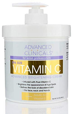 Advanced Clinicals Vitamin C Cream.