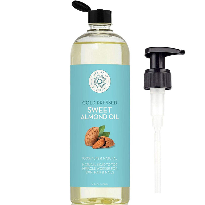 Sweet Almond Oil for Hair and Skin,