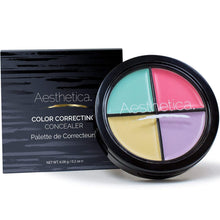 Load image into Gallery viewer, Aesthetica Color Correcting Cream Concealer Palette