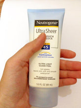 Load image into Gallery viewer, Neutrogena Ultra Sheer Dry-Touch Sunscreen SPF 45