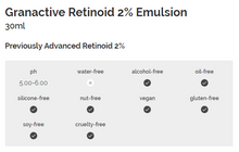 Load image into Gallery viewer, Granactive Retinoid 2% Emulsion 30ml
