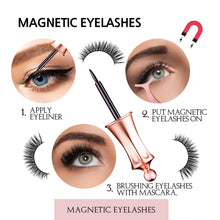 Load image into Gallery viewer, VASSOUL Magnetic Eyelashes With Eyeliner
