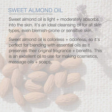 Load image into Gallery viewer, Sweet Almond Oil for Hair and Skin,