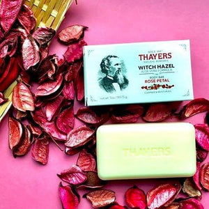 hayers - Body Bar Soap with Witch Hazel and Aloe Vera Rose Petal