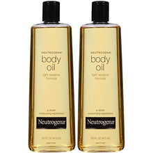 Load image into Gallery viewer, Neutrogena Lightweight Body Oil for Dry Skin, Sheer Moisturizer in Light Sesame Formula, 16 fl. oz