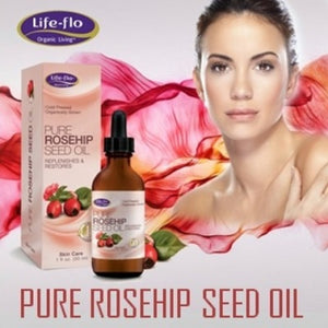 Life-flo, Pure Rosehip Seed Oil, Skin Care