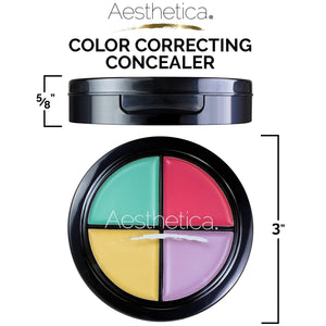 Aesthetica Color Correcting Cream Concealer Palette