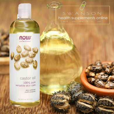 Now Foods, Solutions, Castor Oil