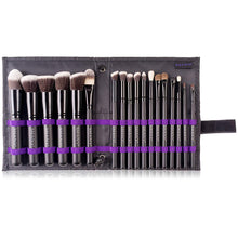 Load image into Gallery viewer, SHANY Artisan's Easel 18 Piece Elite Cosmetics Brush Collection, Black