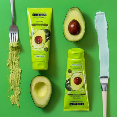 Freeman Beauty - Purifying Avocado & Oatmeal Clay Mask