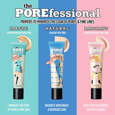 BENEFIT  3 Primer Pros Porefessional Face Primer Trio( 3 x 7.5ml )