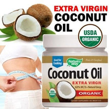 Load image into Gallery viewer, Organic Coconut Oil, Extra Virgin, 16 oz (448 g)