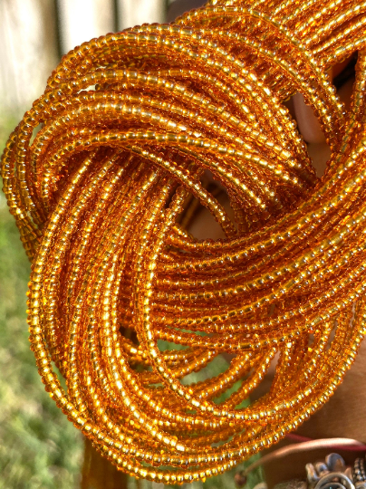 Gold Removable Screw On Waist Beads