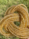 Light Gold Removable Screw On Waist Beads