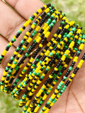 Jamaica Removable Screw On Waist Beads