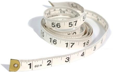 Soft Cloth Measuring Tape - Eye Candy Adornments
