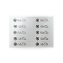Halo Elite White Blocks 120 grit 10 pack