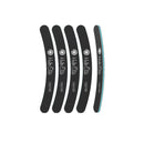 Halo Elite  Black Boomerang File 100/180 - 5 pack