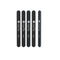 Elite Black Straight File 80/80 - 5 pack