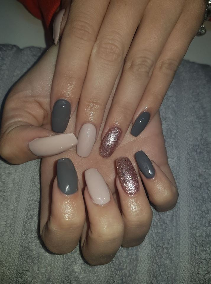 Halo Gel Polish 8ml Charcoal Grey