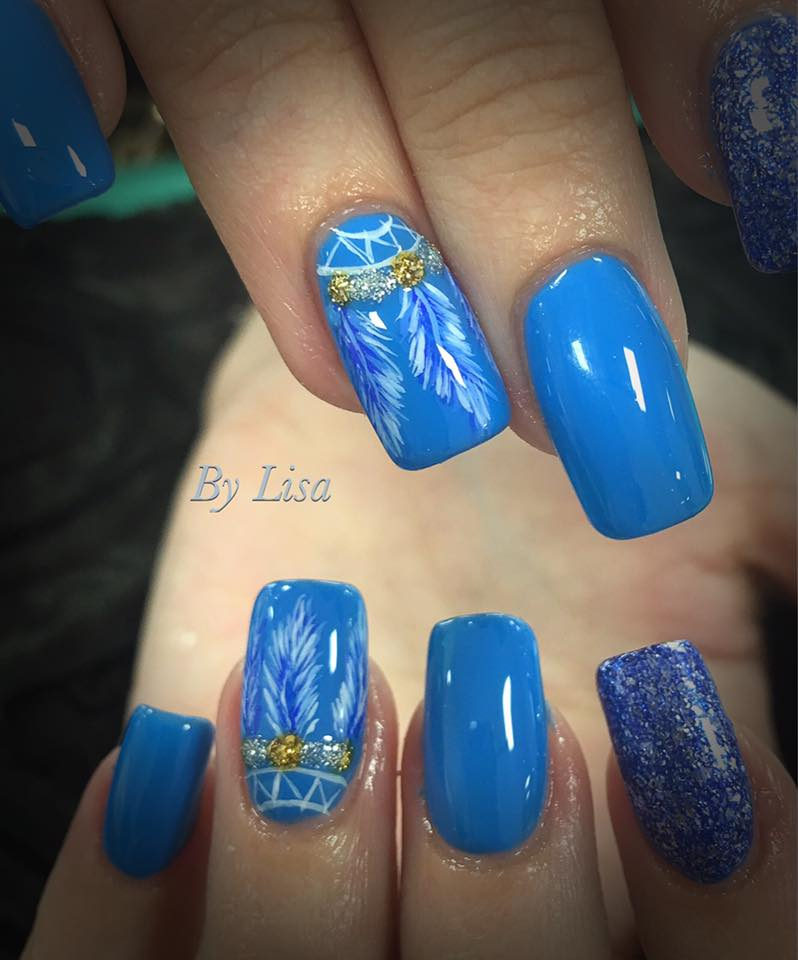 Halo Gel Polish 8ml Blue