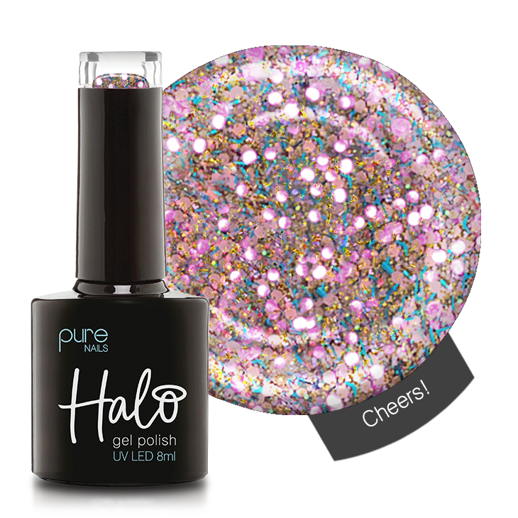 Halo Gel Polish 8ml Cheers!