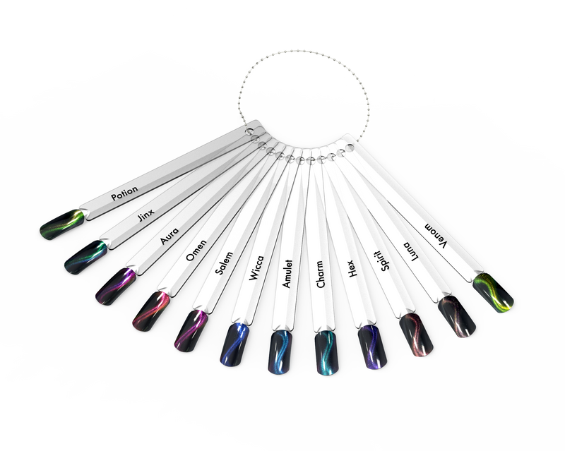Halo Gel Polish Colour Pops Book of Shadows 12's