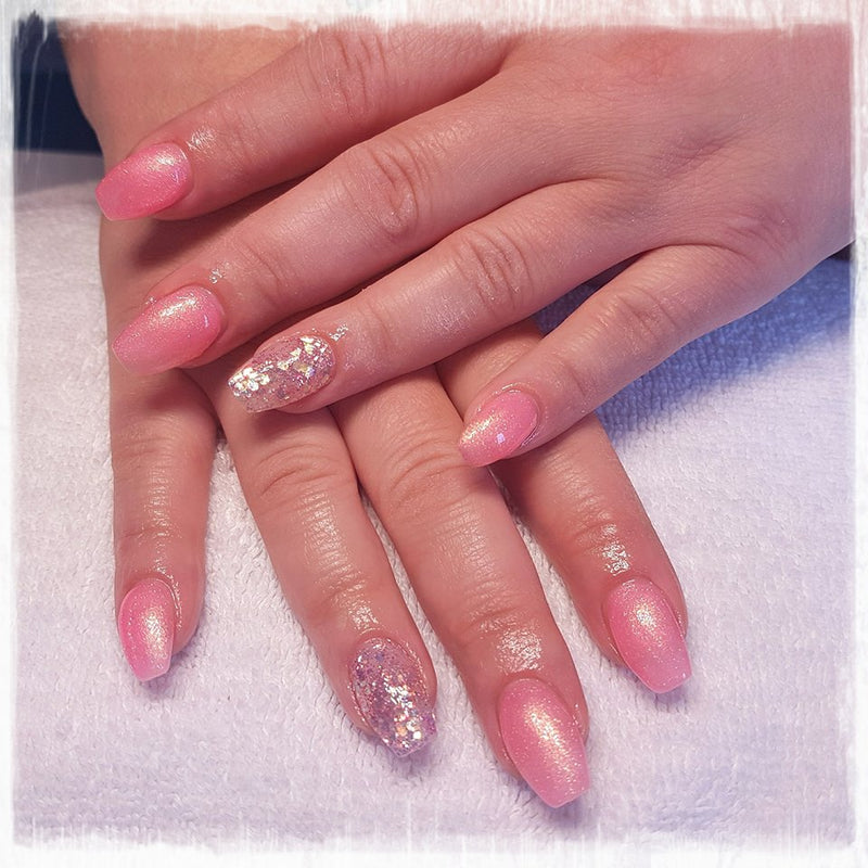 Halo Gel Polish 8ml Pink Shimmer