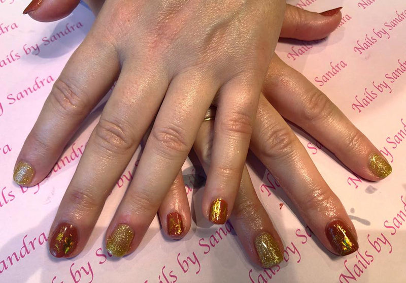 Halo Gel Polish 8ml Gold