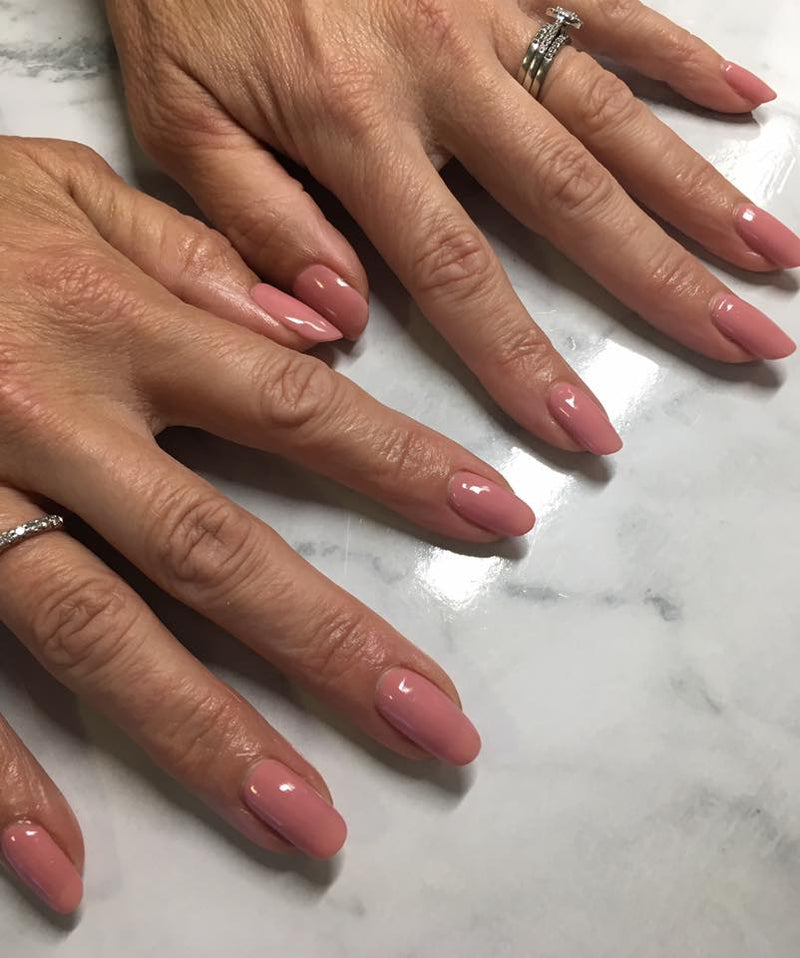 Halo Gel Polish 8ml Dusky Pink
