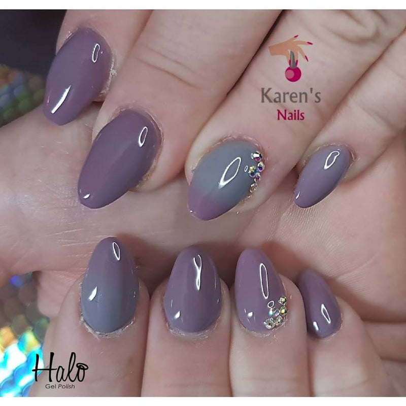 Halo Gel Polish 8ml Heather/Grey