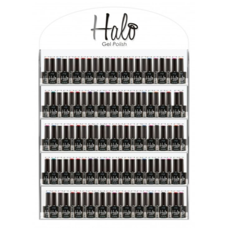 Halo Gel Polish Wall Stand 100+ Bottle