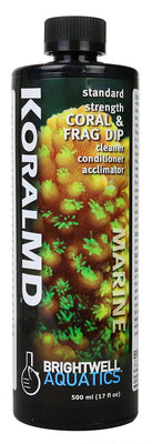 500ml Koral MD Coral and Frag Dip Cleaner Standard Strength - Brightwell Aquatics