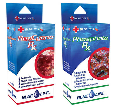 Blue Life USA Red Slime Rx & Phosphate Rx Combo Pack