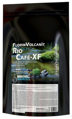 FlorinVolcanit Rio Cafe-XF Planted Tank Extra-Fine Substrate (Brown) - Brightwell Aquatics
