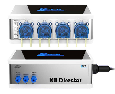 GHL KH Director & GHL 4-pump Slave Doser 2.1 Set