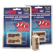 Lee`s Wooden Air Stone / Diffuser 2 Inch - 2 pack