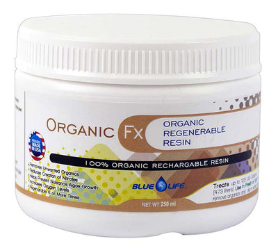Organic Fx Media - 100% Organic Regenerable Resin - Blue Life USA