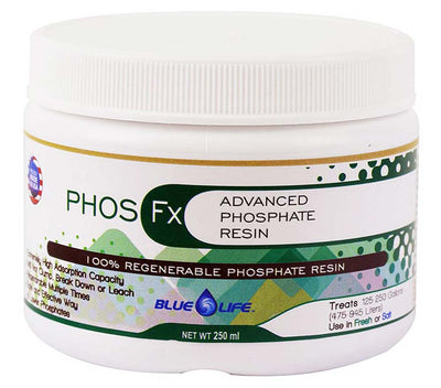 Phos Fx Media - Regenerable Phosphate Resin - Advanced Phosphate Control - Blue Life USA