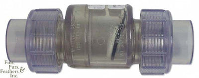 True Union Swing Check Valve - Slip x Slip