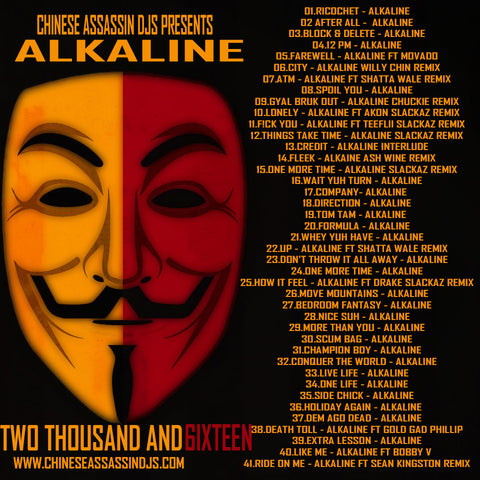 Alkaline Two Thousand & 6ixteen