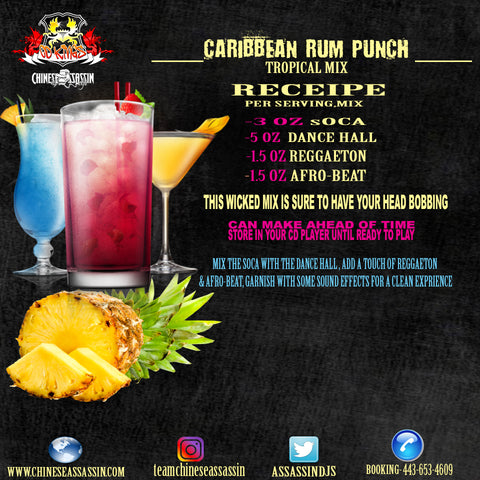 Caribbean Rum Punch (Soca Dance Hall)