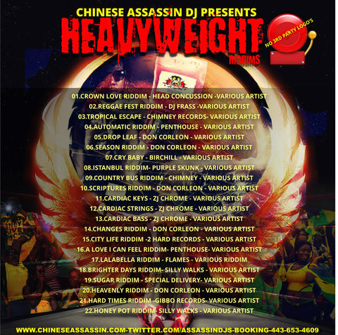 Heavy Weight Riddims (Massive Mix)