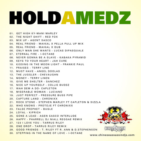 Hold A Medz Pt.2 (2014 Edition )