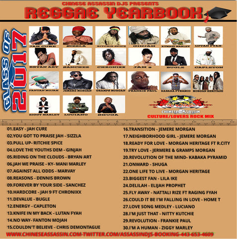 Reggae Yearbook