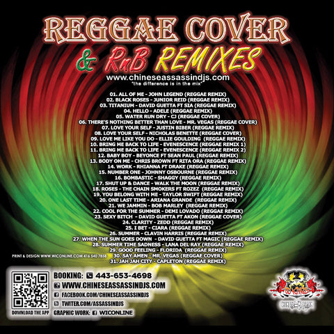 Reggae Covers & R&B Remixes