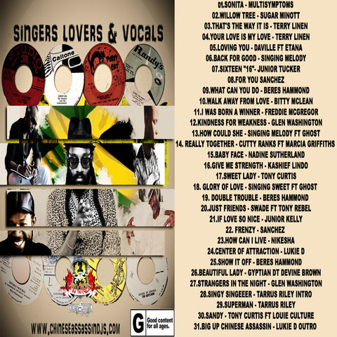 Singers Lovers & Vocals