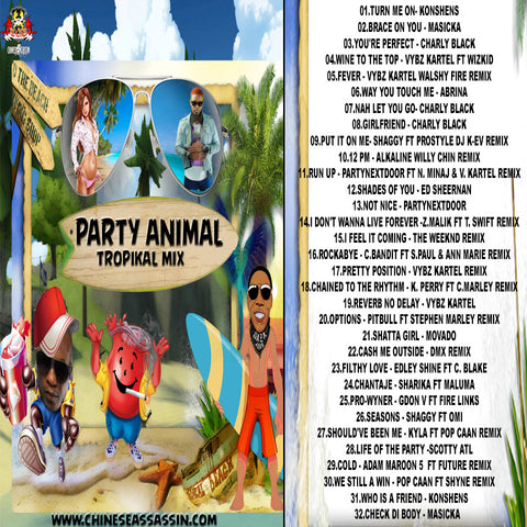 Party Animal Tropikal Mix