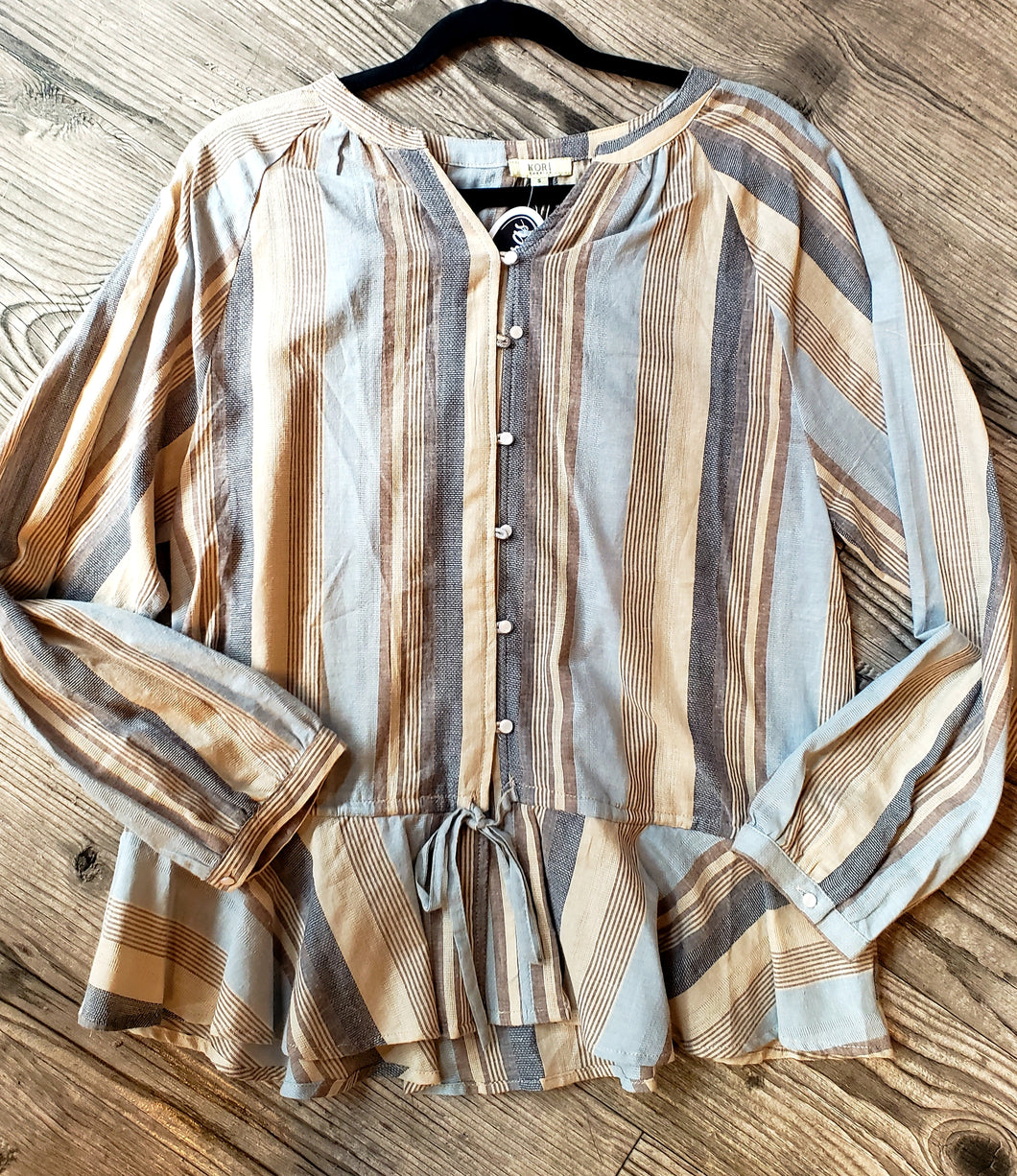 Kimberly Button Down