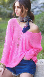 Penny Pink Beach Top